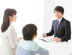 個別学習塾e・days入塾面談風景